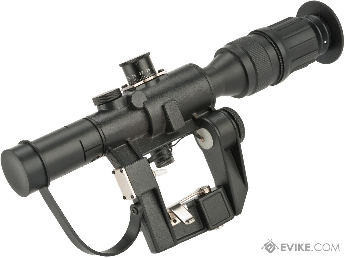 Matrix Illuminated 4x24 PSO-1 Type Scope for Dragonov SVD Sniper Rifle Series