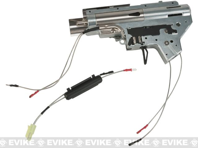 APS Silver Edge 8mm Ver.2 Airsoft AEG Gearbox - Front Wired