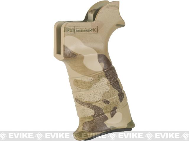 Stark Equipment ANG SE1 Grip for M4 / M16 Series Airsoft GBB and Real Steel AR15 Rifles - Multicam