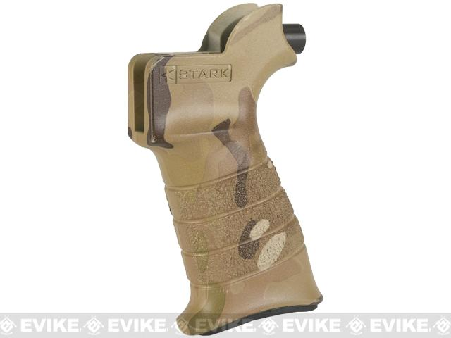 Stark Equipment ANG SE2 Grip for M4 / M16 Series Airsoft GBB and Real Steel AR15 Rifles - QD Swivel / Multicam