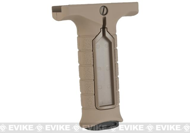 Stark Equipment SE3 Forward Vertical Grip with Pressure Switch Pocket (Color: Earth)