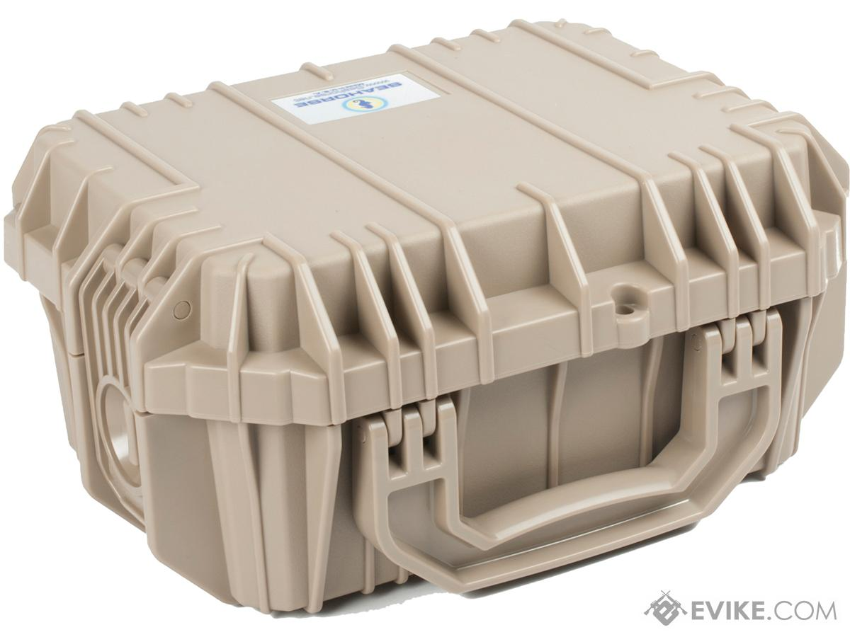 Seahorse SE430  Tactical Case with Foam and Lock (Color: Desert Tan)