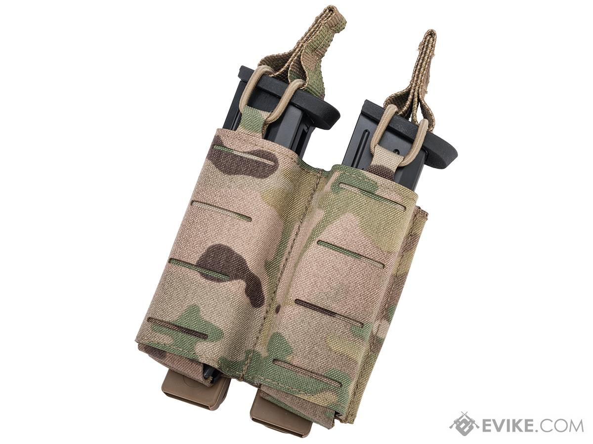 Sentry Staggered Column Double Pistol Magazine Pouch (Color: Multicam)