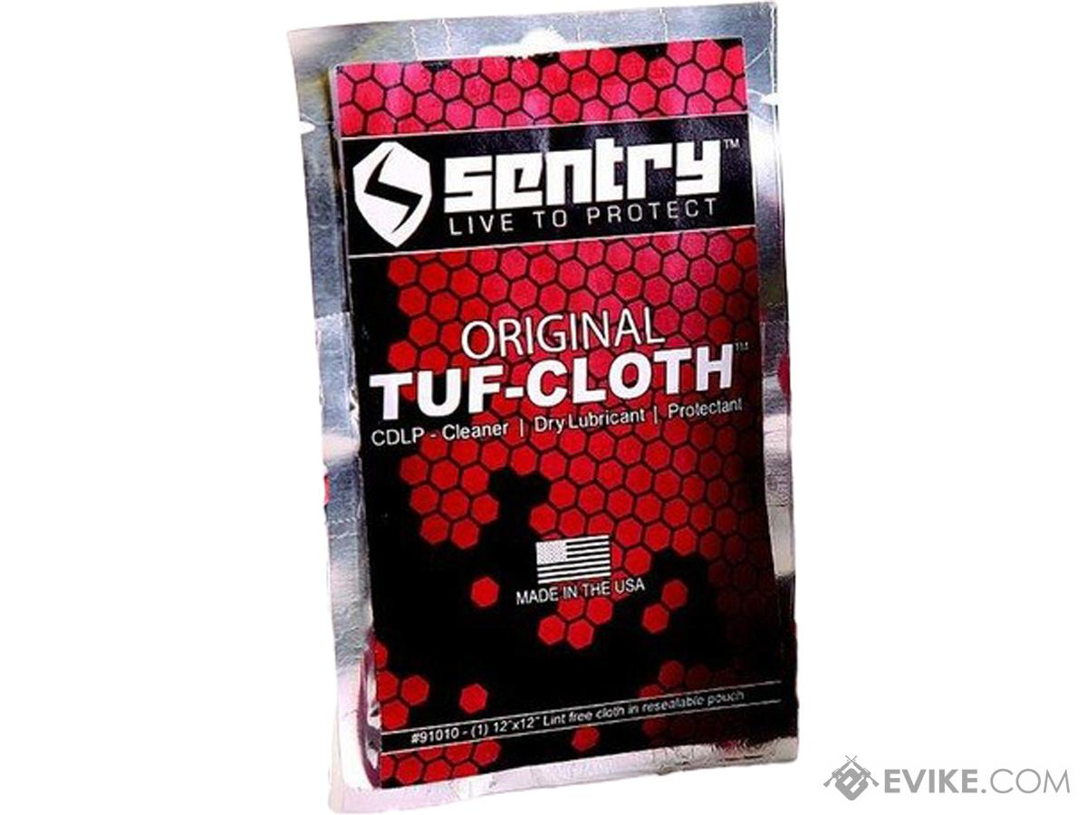 Sentry Solutions Tuf-Cloth CDLP w/ Resealable Pouch (Size: 12x12)