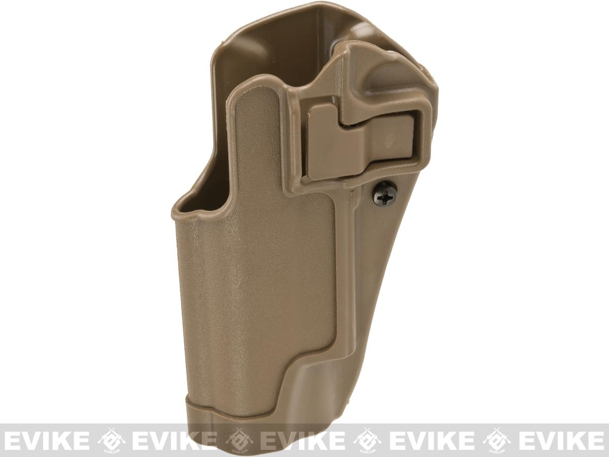 Blackhawk! Serpa CQC Concealment Holster for Colt Goverment Model 1911s and Other Similar Handguns - Dark Earth (Hand: Left)