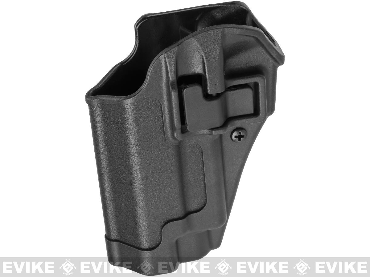 Blackhawk! Serpa CQC Concealment Holster for Sig P220 / 226 / 225 w/ or w/o Std Rails (Hand: Left / Black)