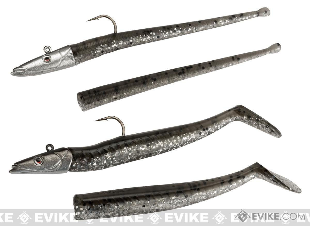Savage Gear Micro Sand Eel and Slug Kit (Color: Dirty Silver)