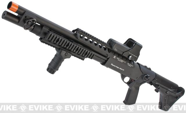 z G&P M870 Long Entry RAS High Power Airsoft Shotgun (With $250 Magpul PTS UBR Stock)