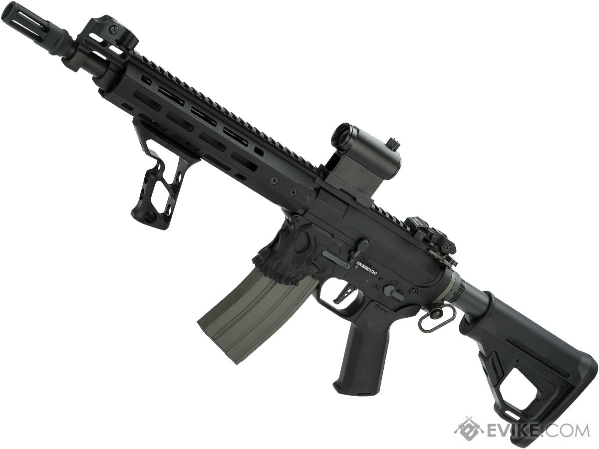 EMG / Sharps Bros Jack Licensed Full Metal Advanced M4  Airsoft AEG Rifle (Color: Black / 10 SBR / 350 FPS)