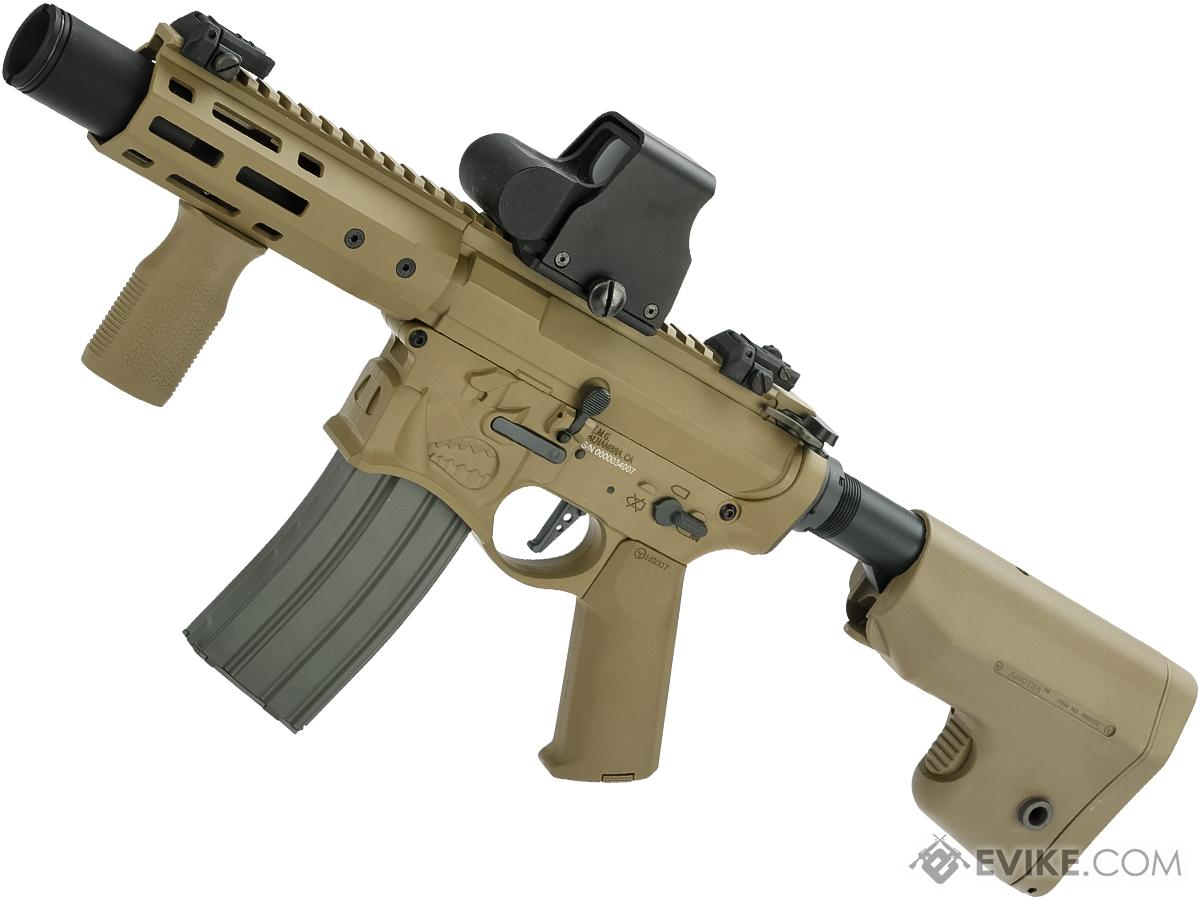 EMG / Sharps Bros Warthog Licensed Full Metal Advanced  Airsoft AEG Rifle (Color: Tan / 7 SBR)