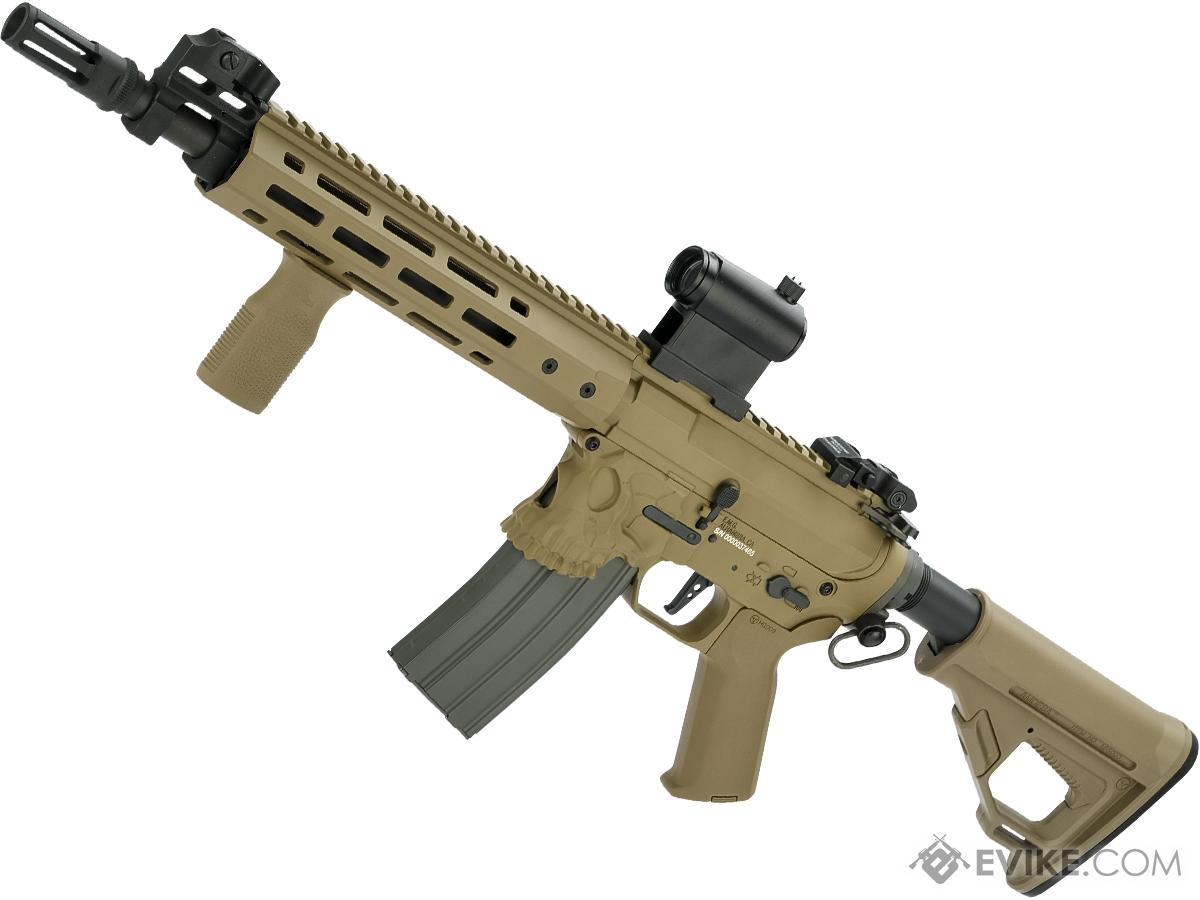 EMG / Sharps Bros Jack Licensed Full Metal Advanced M4  Airsoft AEG Rifle (Color: Tan / 10 SBR)