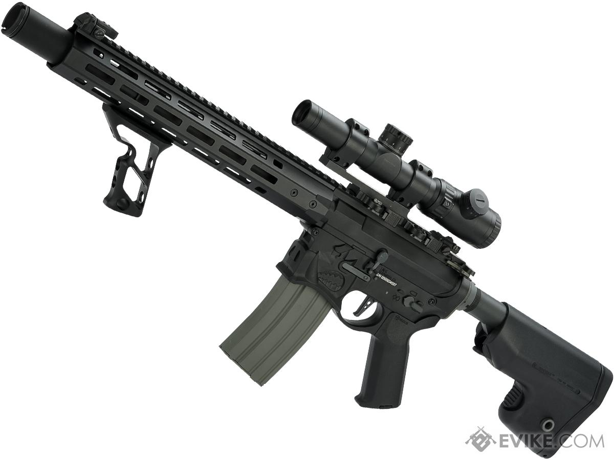 EMG / Sharps Bros Warthog Licensed Full Metal Advanced M4  Airsoft AEG Rifle (Color: Black / 15 Carbine)