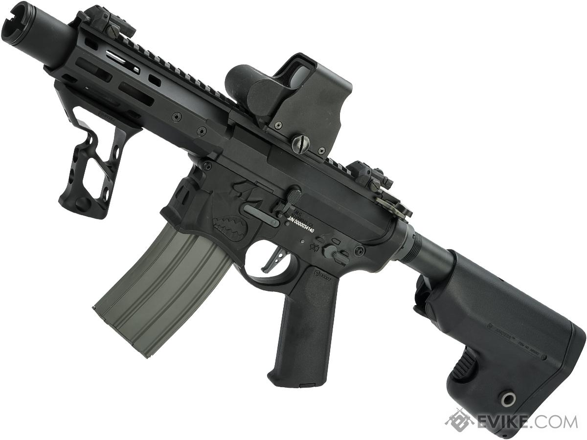 EMG / Sharps Bros Warthog Licensed Full Metal Advanced  Airsoft AEG Rifle (Color: Black / 7 SBR)