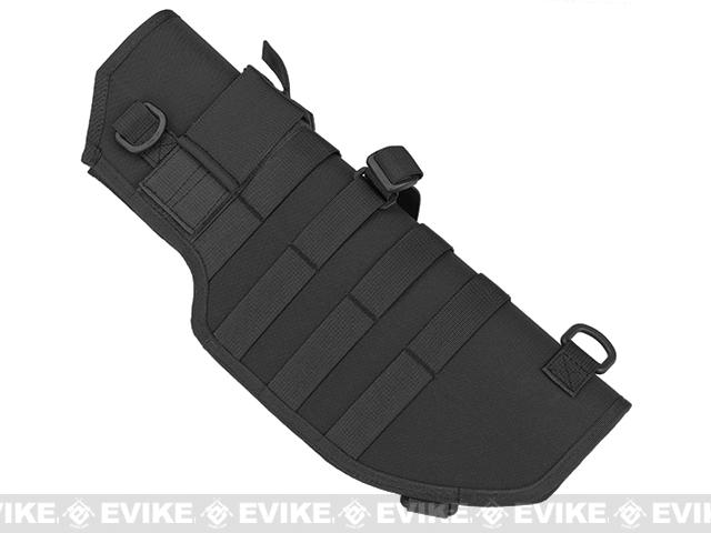 Laylax Battle Style Sheath / Holster for MP7A1 Airsoft Sub Machine Guns (Color: Black)