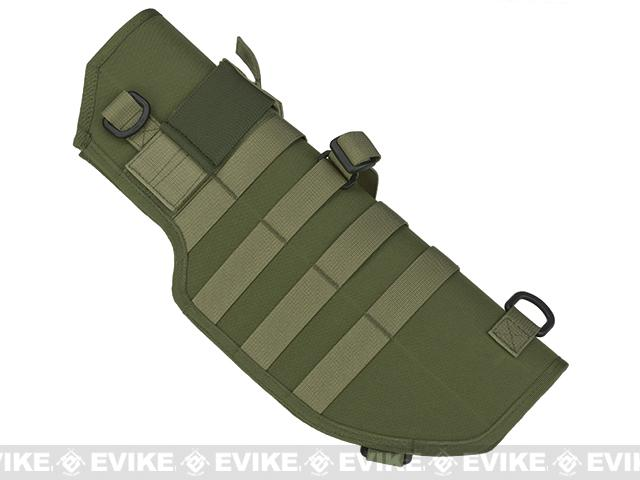 Laylax Battle Style Sheath / Holster for MP7A1 Airsoft Sub Machine Guns (Color: OD Green)