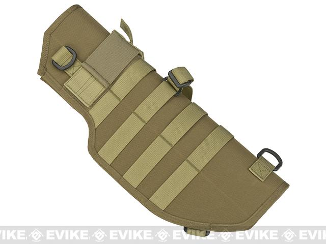 Laylax Battle Style Sheath / Holster for MP7A1 Airsoft Sub Machine Guns - Tan