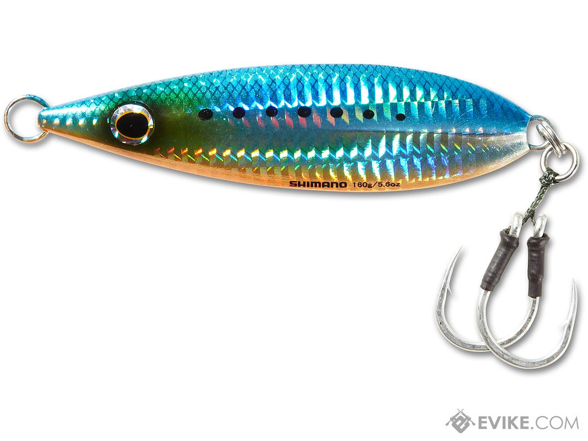 Shimano Butterfly Flat Fall Jig (Color: Blue Sardine / 200g)
