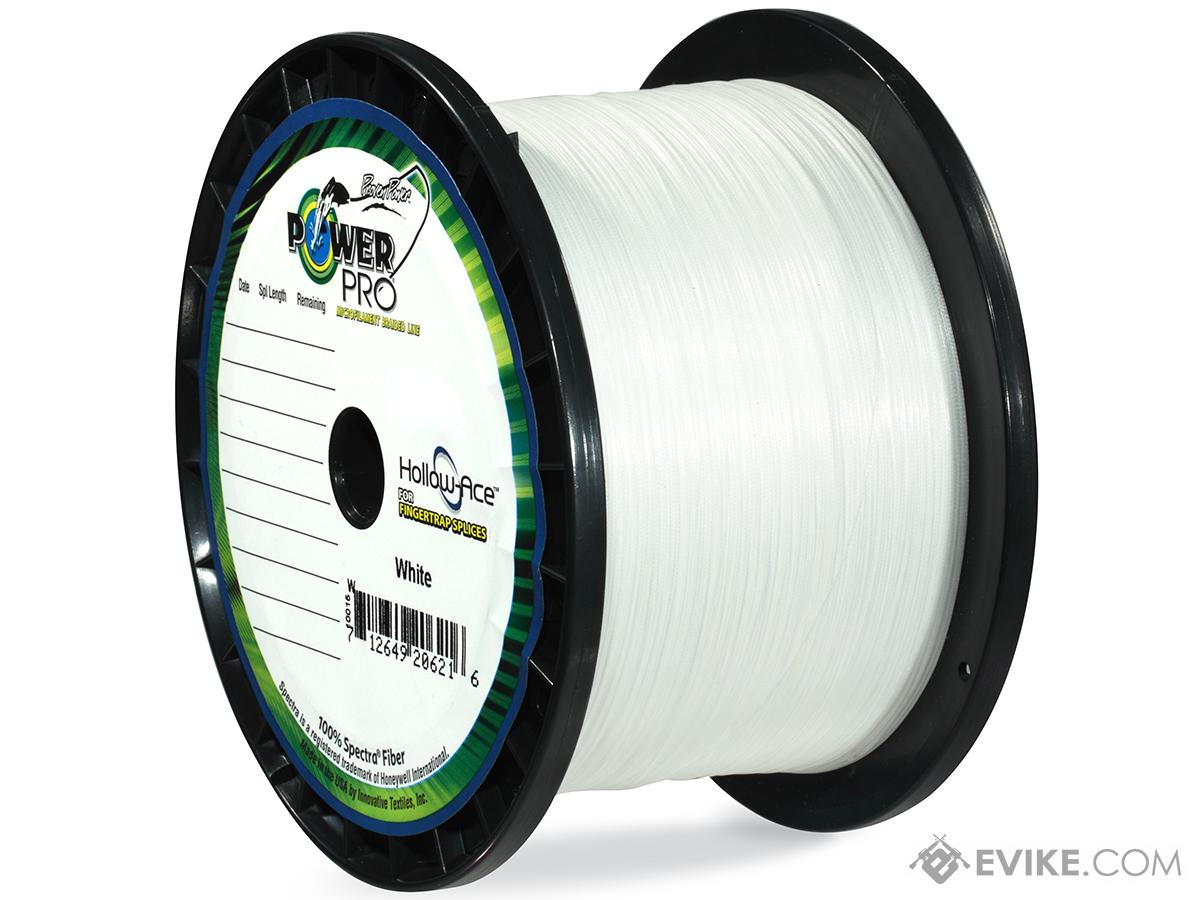 Power Pro Spectra Fiber Hollow-Ace Braided Fishing Line (Color: White / 40 Pound / 3000 Yards)