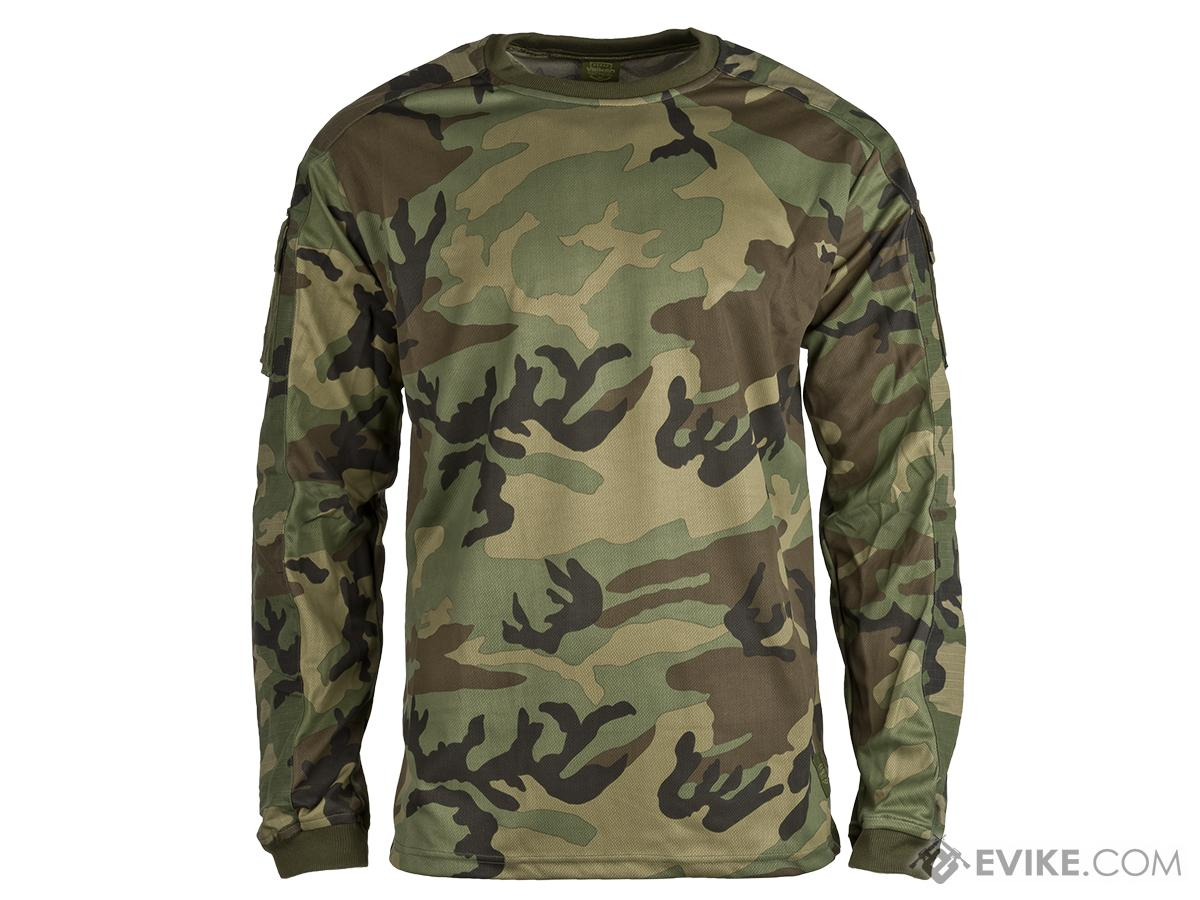 Valken Combat KILO Shirt - Woodland (Size: Medium)