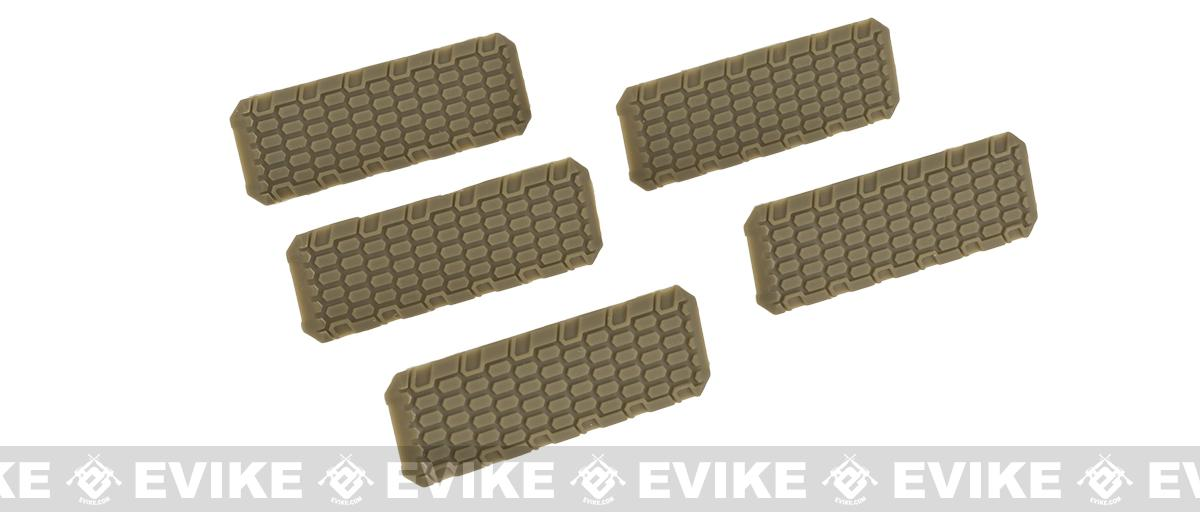 Strike Industries M-LOK Rail Covers V2 (Color: Flat Dark Earth)