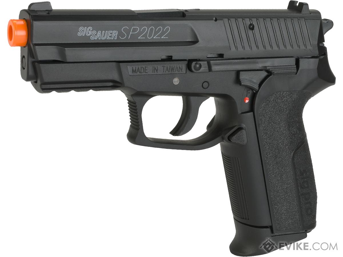 Swiss Arms Licensed SIG Sauer SP2022 CO2 Airsoft Gas Non-Blowback Pistol by KWC (Model: Standard)