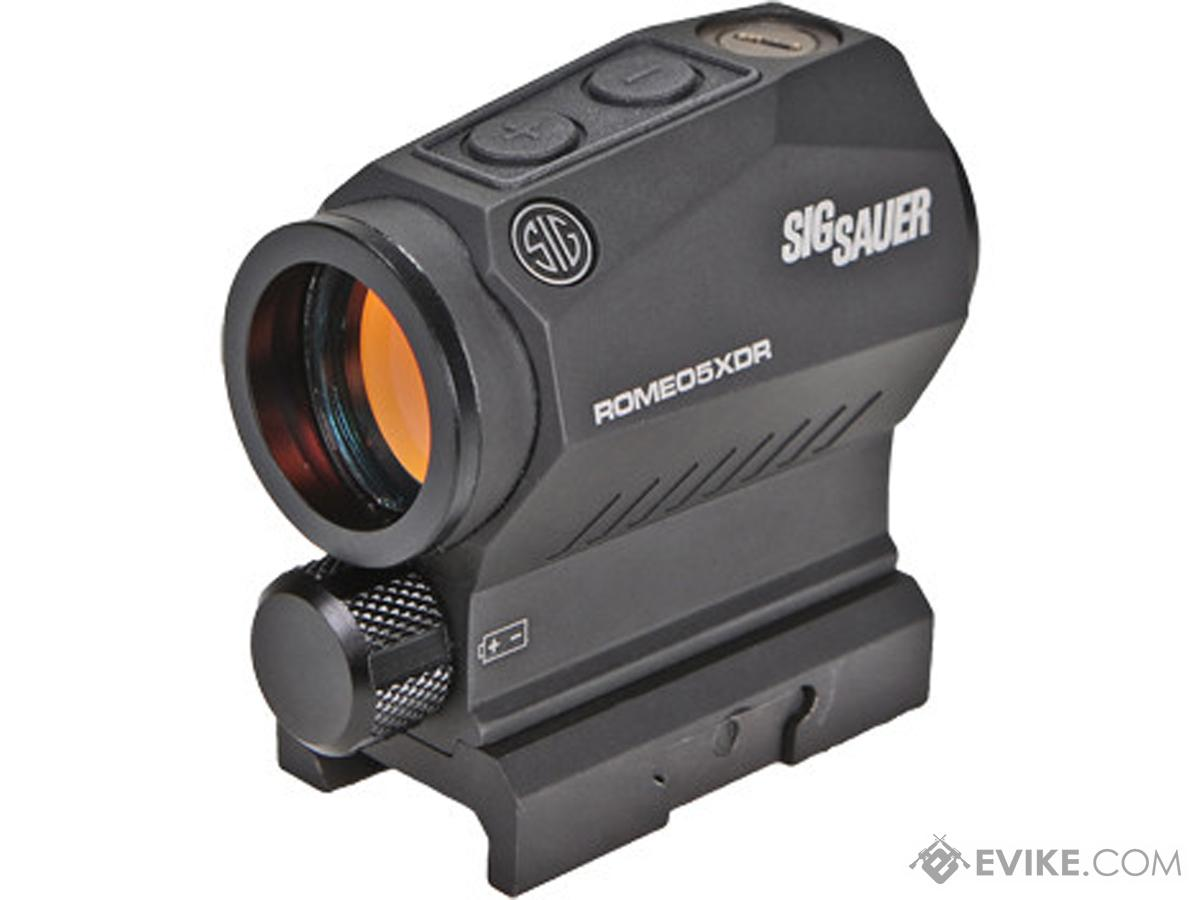 SIG Sauer ROMEO5 XDR 1x20mm Compact Red Dot Sight w/ High & Low Mounts (Type: 2 MOA Dot and 65 MOA Circle)