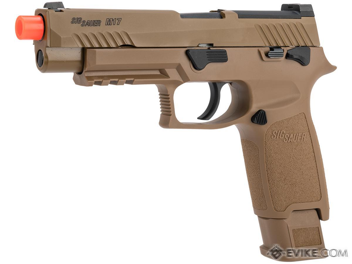 SIG Sauer ProForce P320 M17 MHS Airsoft GBB Pistol (Model: Green Gas)