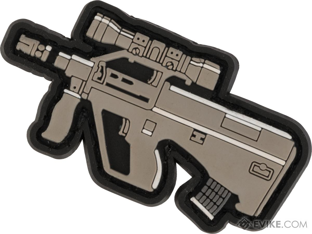 Evike.com PVC Morale Patch Chibi Gun Series (Model: AUG)