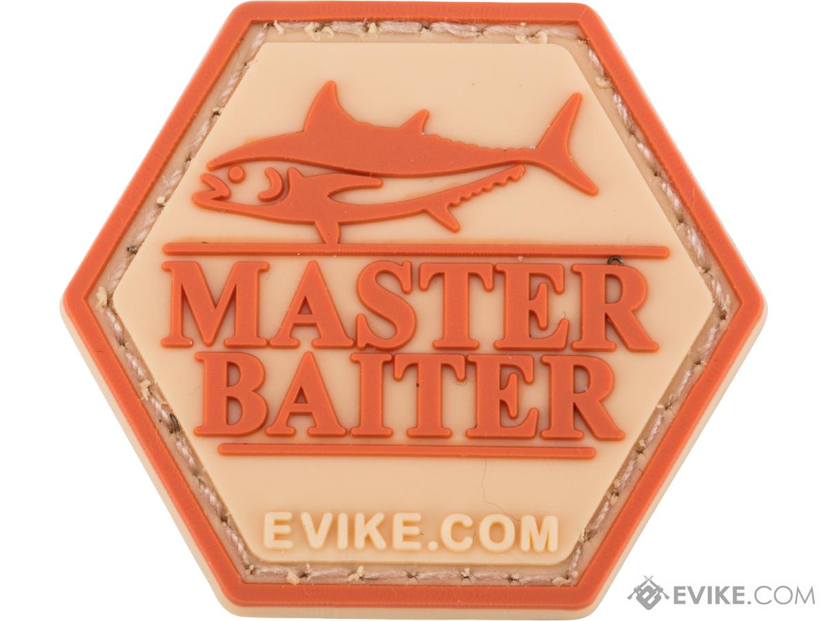 Operator Profile PVC Hex Patch Fishing Series (Style: Master Baiter)