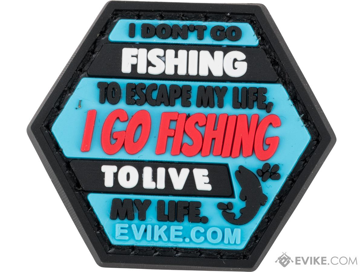 Operator Profile PVC Hex Patch Fishing Series 2 (Style: Fishing Life)