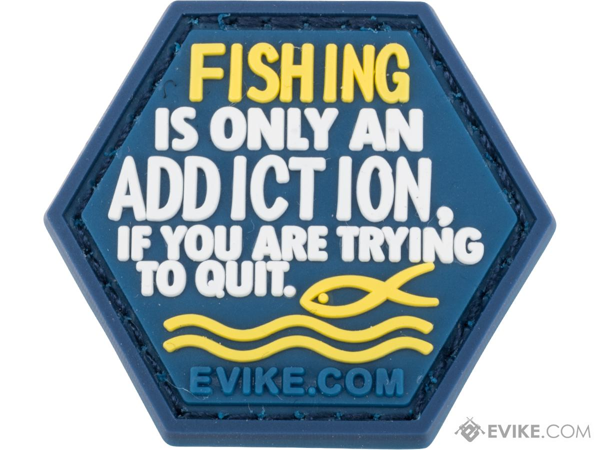 Operator Profile PVC Hex Patch Fishing Series 2 (Style: Fishing Addiction)