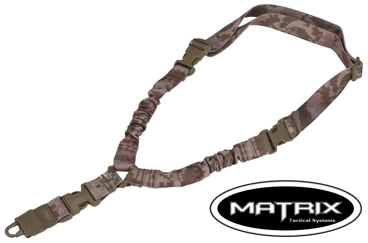 Matrix QD High Speed Single Point Bungee Sling (Color: Digital Desert)