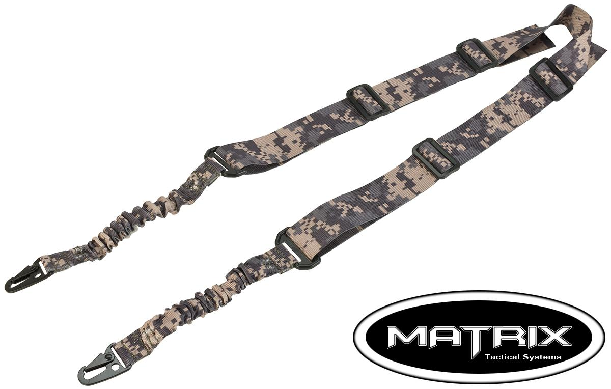 Matrix Two Point Bungee Sling - ACU