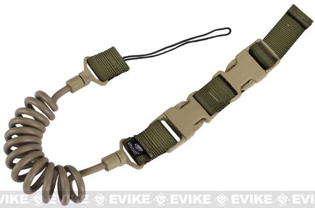 M1 Type Stealth Pistol Retention Lanyard - Coyote Brown