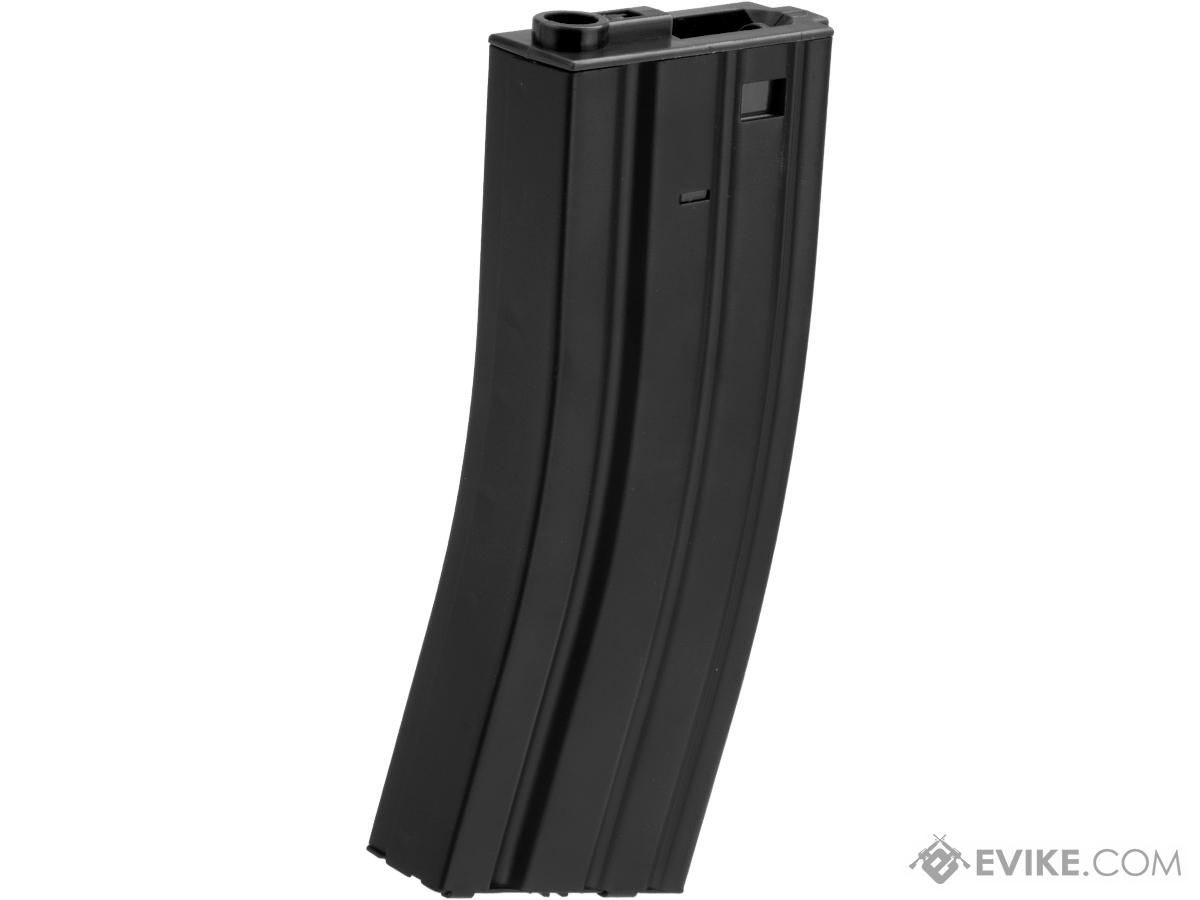 Matrix Metal 300rd Hi-Cap Magazine for M4/M16 Series Airsoft AEG Rifles (Color: Black)