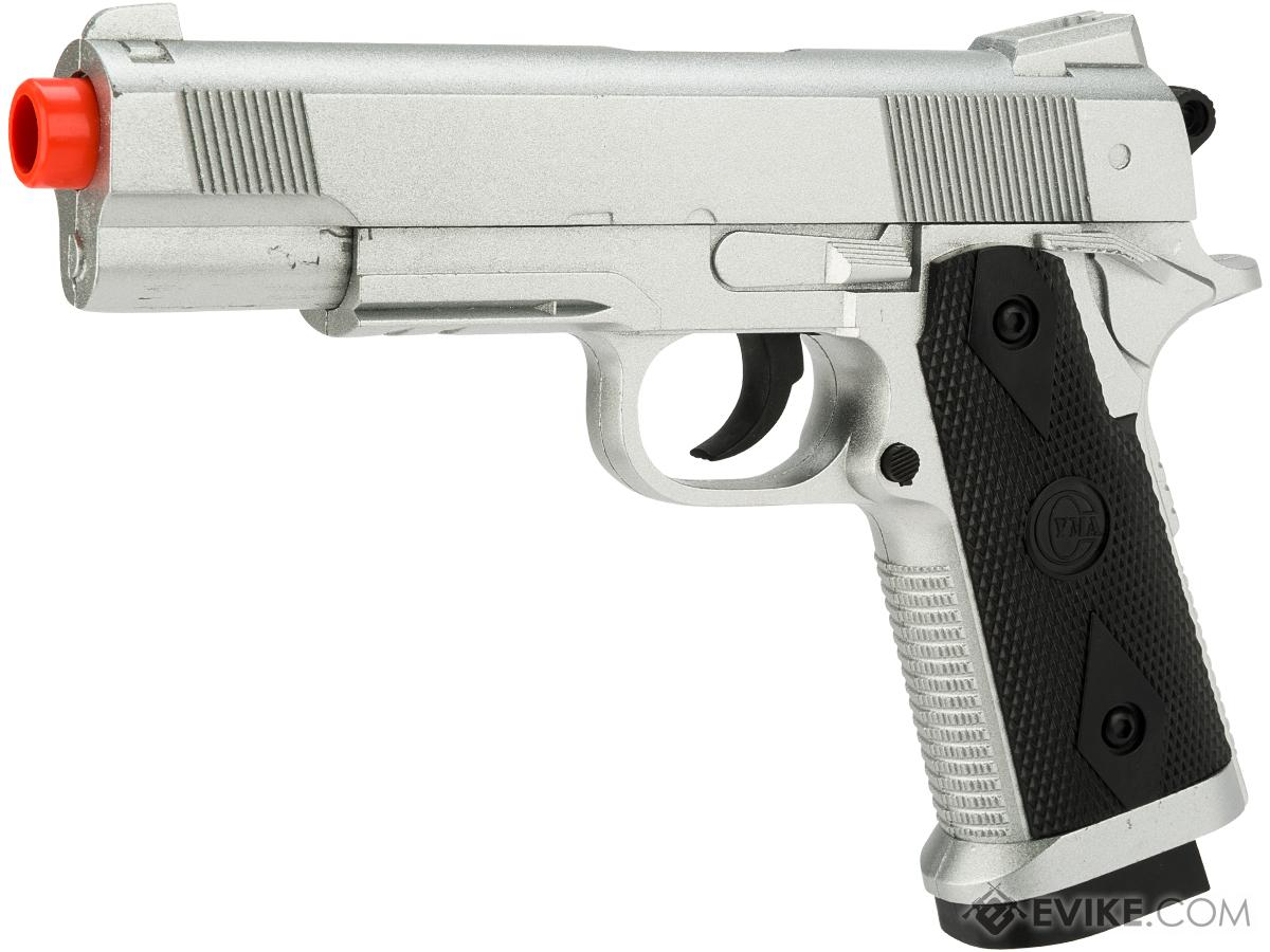 ZM25 Spring Powered Metal  3/4 Scale 1911 Style Airsoft Pistol