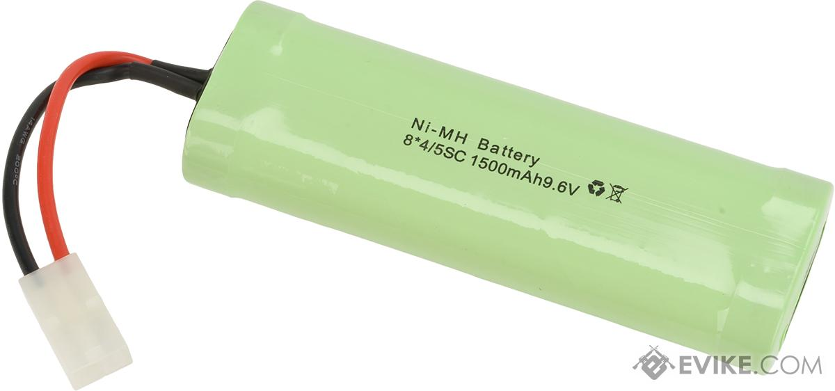 9.6V 1500mAh NiMh High Output Airsoft RC battery by S&T (Brick Configuration)