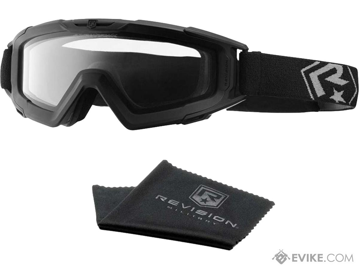 Revision SnowHawk Military Cold Weather Goggle System (Color: Black / Military 2 Lens Kit)