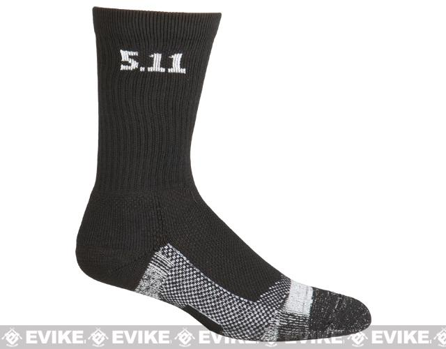 5.11 Tactical Level I 6 Socks - (Black)