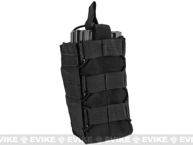 HSGI Soft TACO® Modular Pouch (Color: Black / MOLLE Mounted)