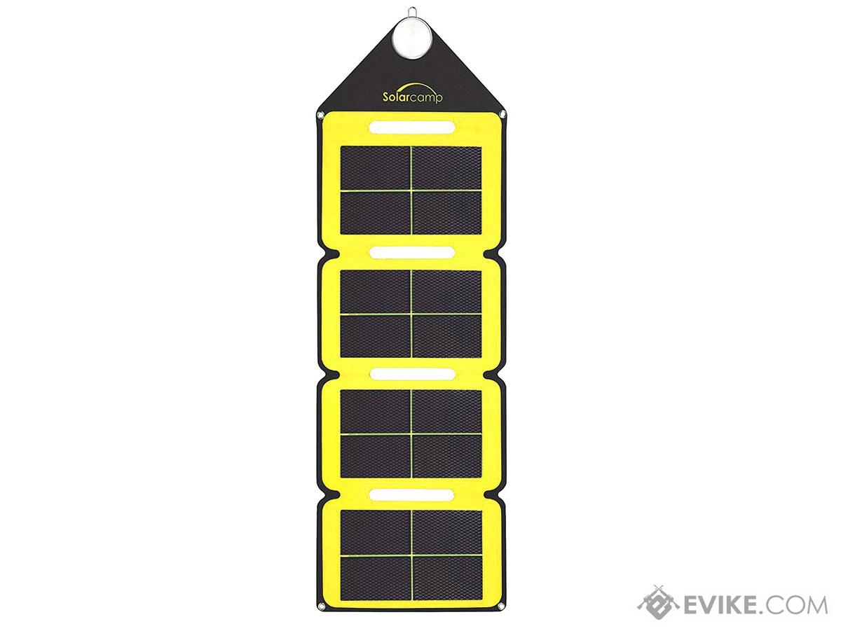 Solar Camp 7.6W Solympic Hue Portable Solar Panel (Color: Yellow)