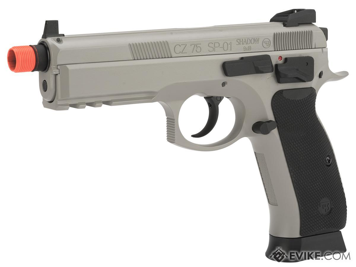 CZ75 SP-01 Shadow Gas Blowback Airsoft Pistol by ASG (Color: Urban Grey / CO2)
