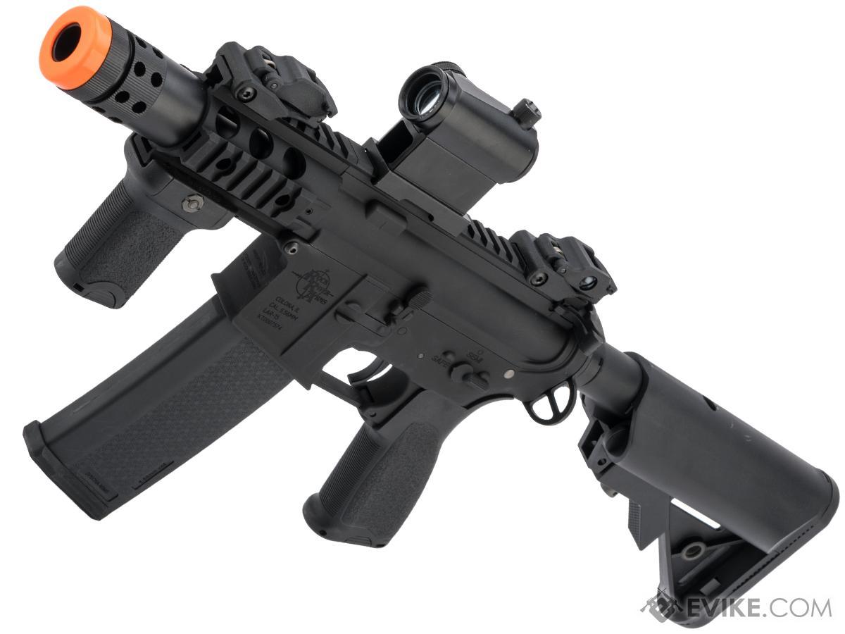 Specna Arms / Rock River Arms Licensed EDGE Series M4 AEG (Model: M4 PDW / Black SA-E10)