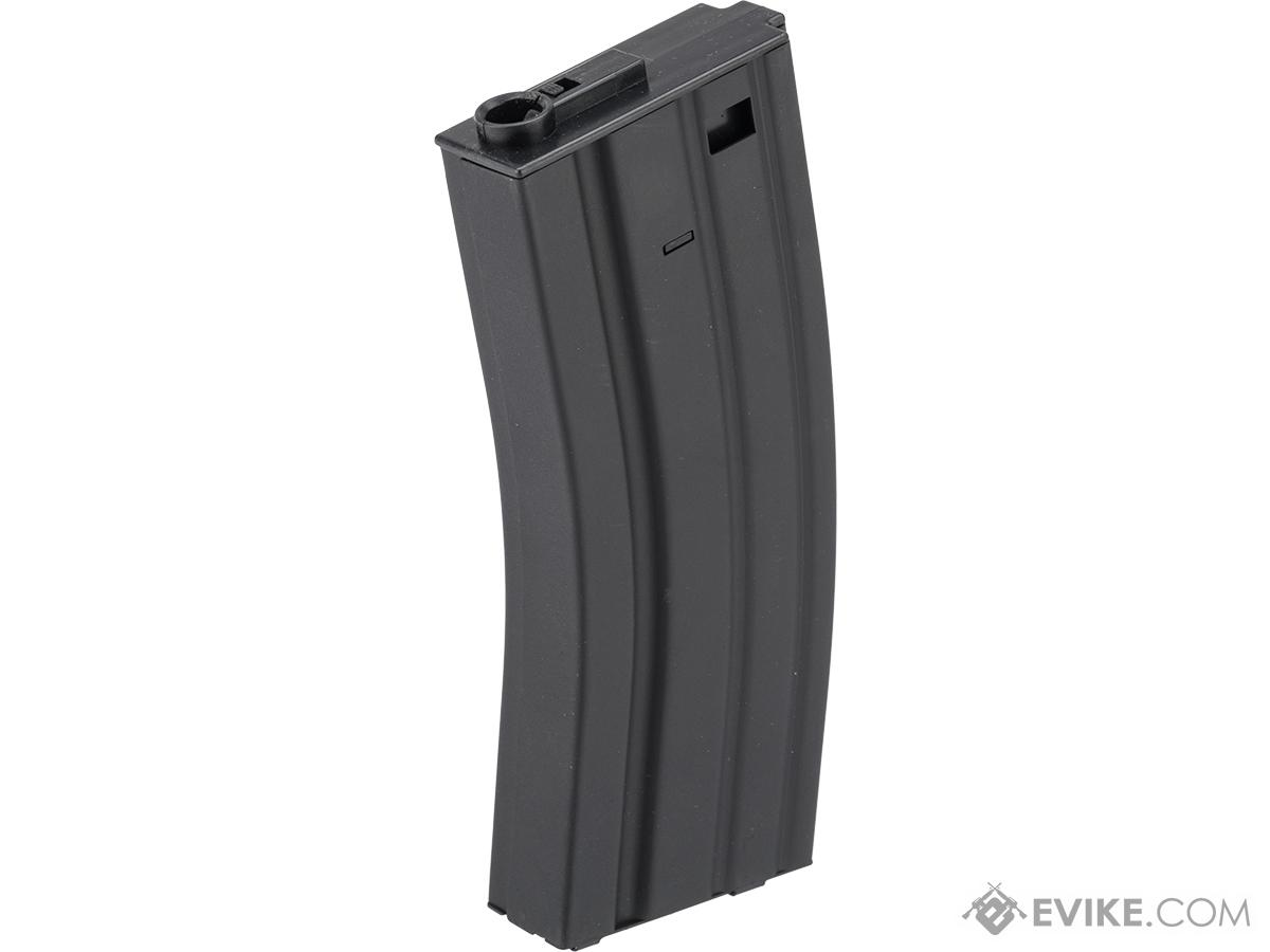 Specna Arms 120rd Mid-Cap Stamped Steel STANAG Style M4 / M16 AEG Magazine (Color: Black)