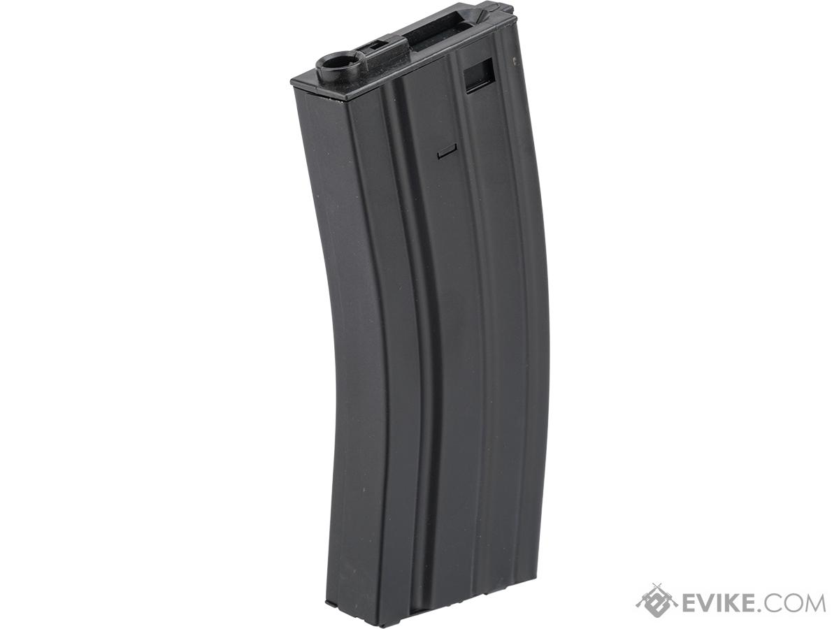 Specna Arms 300rd Hi-Cap Stamped Steel STANAG Style M4 / M16 AEG Magazine (Color: Black)