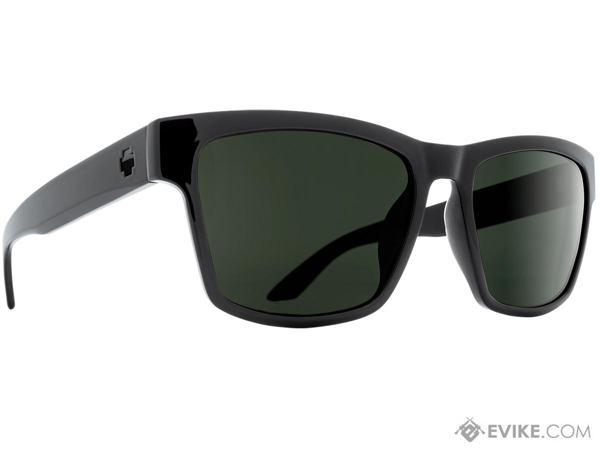 Spy Optic Haight 2 Sunglasses (Color: Black Frame / HD Plus Gray Green Lens / Polarized)