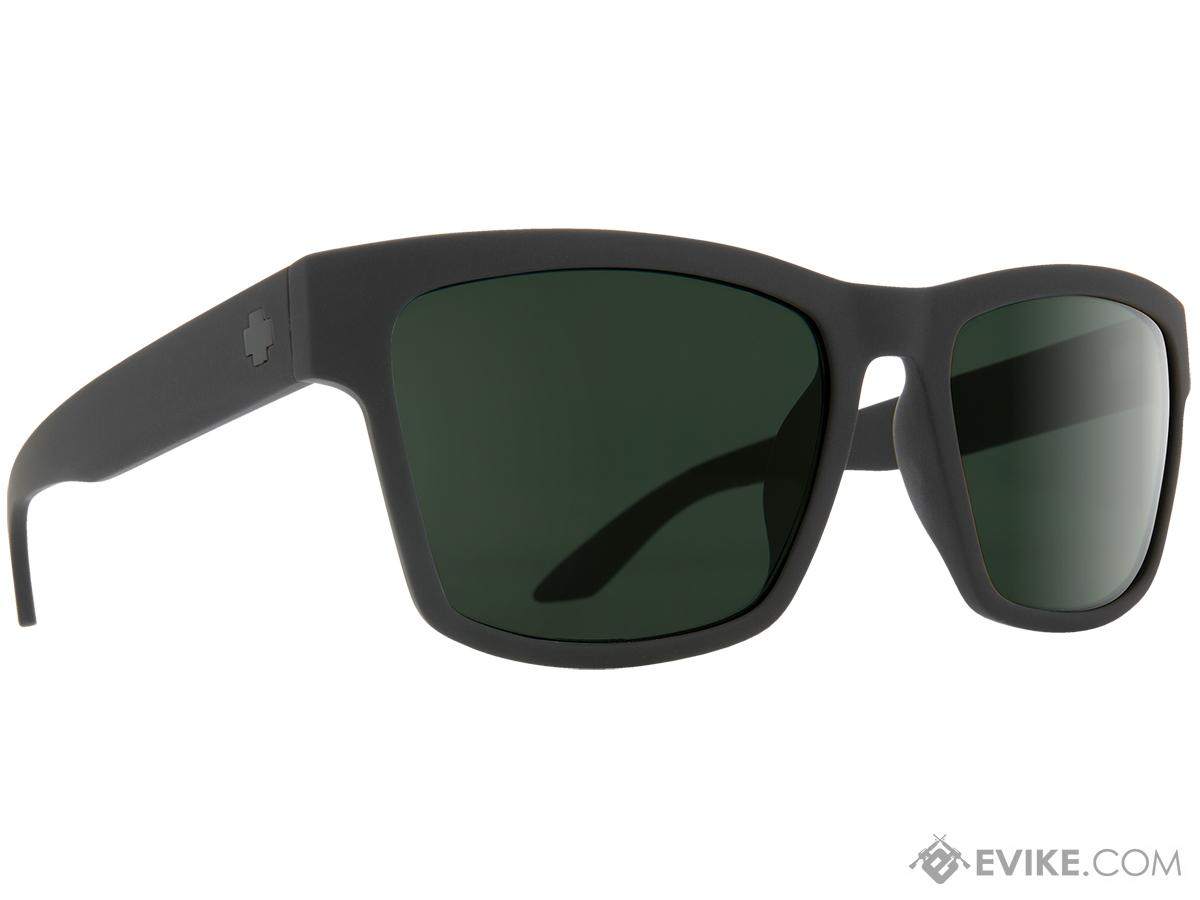 Spy Optic Haight 2 Sunglasses (Color: Matte Black Frame / HD Plus Gray Green Lens)