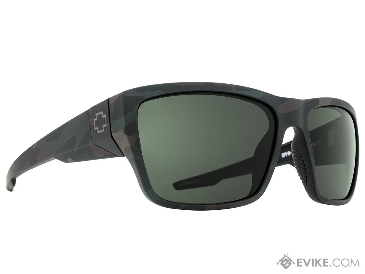 Spy Optic Dirty Mo 2 Sunglasses (Color: Matte Camo Frame / HD Plus Gray Green Lens / Polarized)