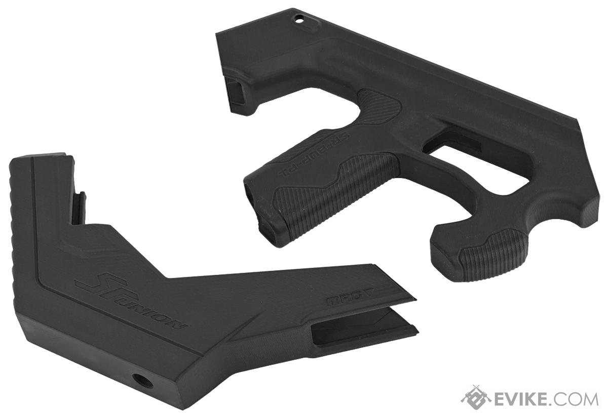 SRU SCAR-L 3D Printer Bullpup Carbine Kit for WE-Tech Mk16 / SCAR-L Gas Blowback Airsoft Rifles (Color: Black)