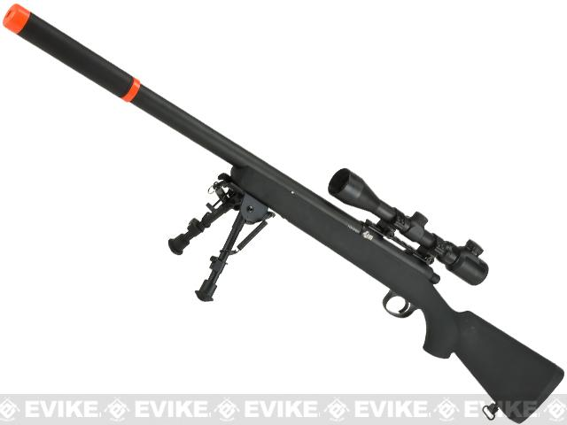 JG VSR-10 G-SPEC Marui Clone Airsoft Bolt Action Sniper Rifle w/ Metal Trigger Box - (Package: Rifle)